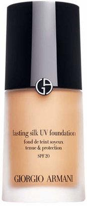 Giorgio Armani Lasting Silk UV Foundation SPF 20 $62 thestylecure.com