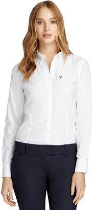 Brooks Brothers Non-Iron Tailored Fit Supima® Cotton Oxford Dress Shirt