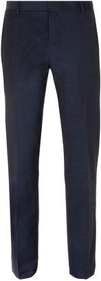 Topman Navy Bogart Skinny Suit Pants