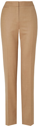 Jaeger Flannel Trousers, Camel