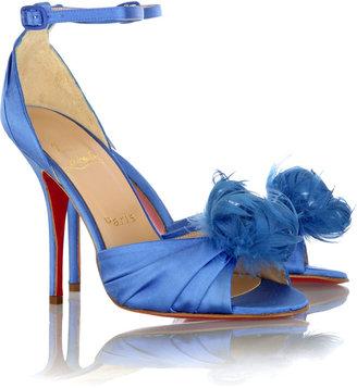 Christian Louboutin Rosazissimo satin sandals