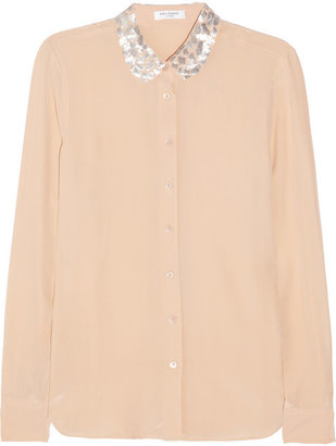 Equipment Sophie washed-silk shirt