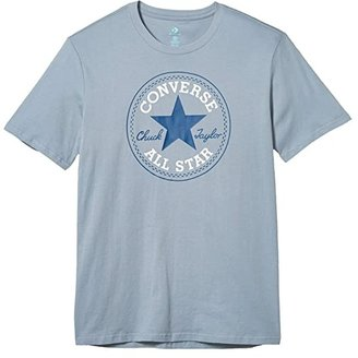 Converse Chuck Patch Tee (Blue Slate) Men's Short Sleeve Pullover