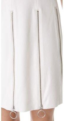 Moschino Cheap & Chic Moschino Cheap and Chic Zipper Dress