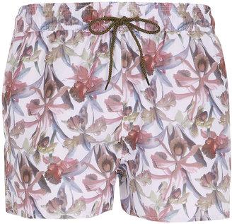 Topman Floral Swim Shorts