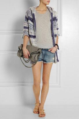 Etoile Isabel Marant Persan chunky-knit cotton-blend cardigan