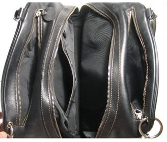 Hogan excellent (EX Black Leather Tote Bag