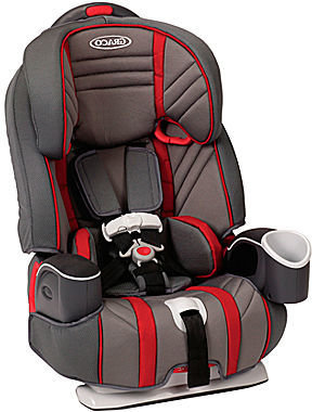 Graco Nautilus 3-in-1 Car Seat - Garnet