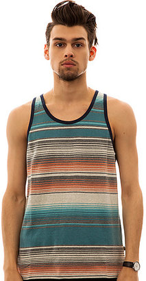 Obey The Tulum Tank Top in Storm Blue