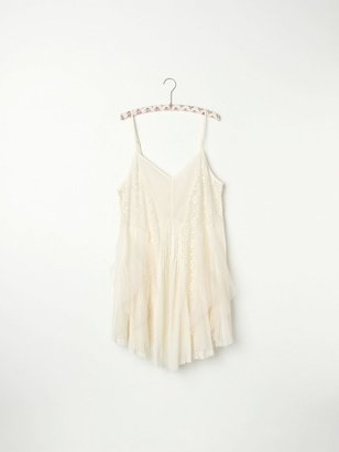 Free People Tulle and Gauze Slip