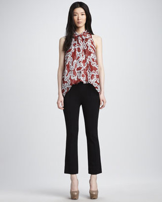 Diane von Furstenberg Floyd Two Cropped Pants