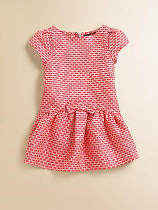 Lili Gaufrette Toddler's & Little Girl's Jacquard Bow Dress