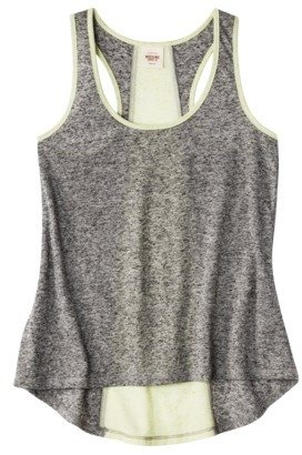 Mossimo Juniors High Low Racerback Tank - Assorted Colors