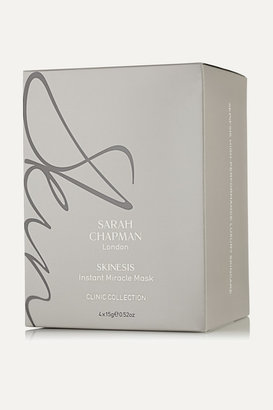 Sarah Chapman Skinesis Instant Miracle Mask, 4 X 15g - Colorless