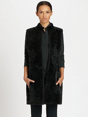 Akris Punto Reversible Shearling Vest