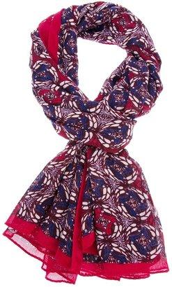 Tory Burch pattern print scarf
