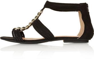 Helena Metal Trim Sandals