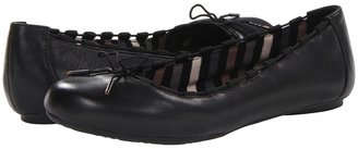 Dr. Scholl's Fortunate (Black Leather) - Footwear