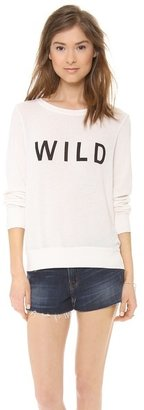 Wildfox Couture Wild Long Sleeve Top