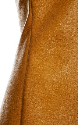 Peter Som Coated Wool Sleeveless Tunic