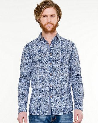 Le Château Paisley Print Tailored Fit Shirt