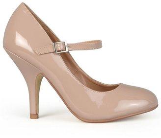 Journee Collection leslie women's wide-width mary jane dress heels