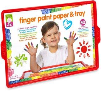 Alex Finger Paint Paper & Tray