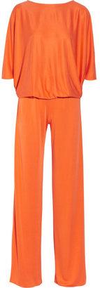 Issa Silk-jersey jumpsuit