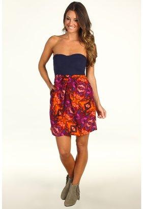 Hurley Capetown Dress Juniors (Acai Berry) - Apparel