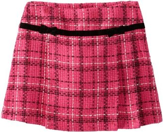 Hartstrings Girls 7-16 Big Yarn Dyed Boucle Plaid Skort