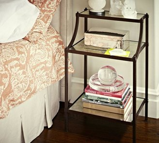 Pottery Barn Etagere Bedside Table