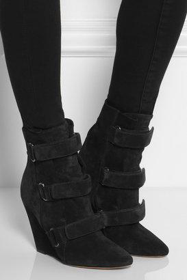 Isabel Marant Sebay suede ankle boots