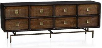 Crate & Barrel Zander 8-Drawer Dresser