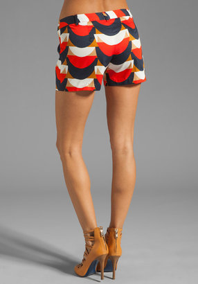 Milly Scallop Print Dickies Short
