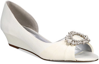 Nina Rivka d'Orsay Evening Wedges $99 thestylecure.com