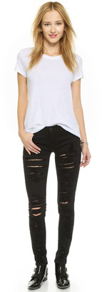 Blank Ripped Skinny Jeans