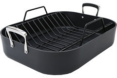 All-Clad Hard Anodized Roaster & Nonstick Rack