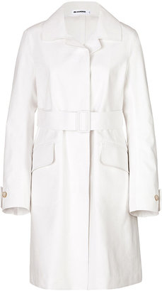 Jil Sander Cotton Trench Coat