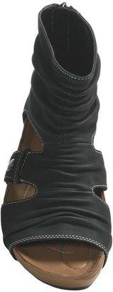 Earth Eminent Open-Toe Boot Sandals - Nubuck (For Women)