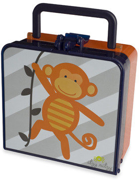 Bed Bath & Beyond Itzy Ritzy® Lunch Happens™ Bento Lunch Box - Monkey