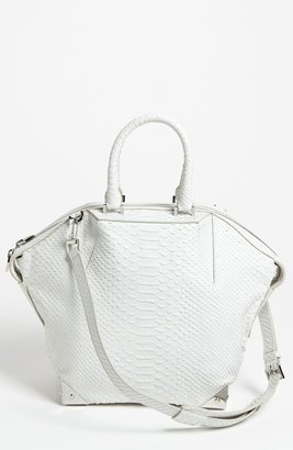 Alexander Wang 'Emile - Small Prisma' Python Embossed Leather Tote