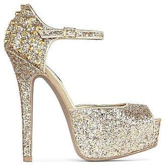 JCPenney Olsenboye® Marigold Glitter Platform Sandals
