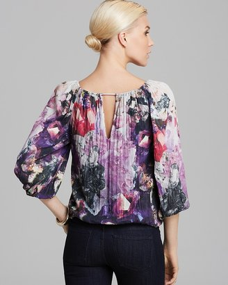 Alice + Olivia Top - Tama Puff Sleeve