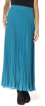 The Limited Crystal Pleated Skirt