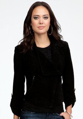 Bebe Emma Suede Jacket