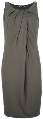 Max Mara Studio pleated shift dress