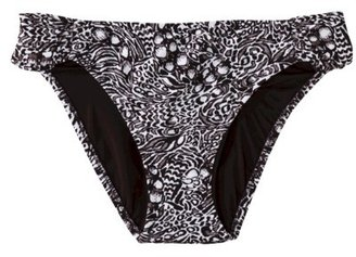 Mossimo Women's Hipster Swim Bottom -Animal Print