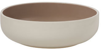 Vue Icy Salad Bowl in Taupe