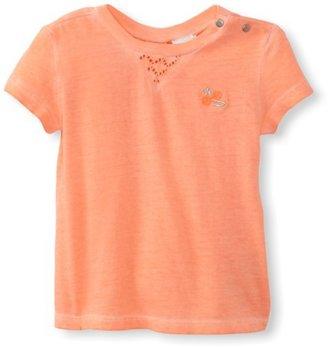 Diesel Baby-Girls Infant Tyrillib Pigment Dyed Short Sleeve Tee