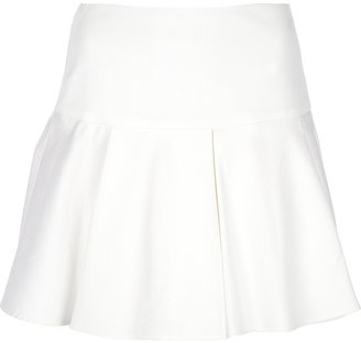 RED Valentino flared pleated skirt